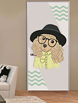 abordables -Calcomanías Decorativas de Pared / Pegatinas de puerta - Pegatinas de pared de animales / Holiday pegatinas de pared Animales / Navidad