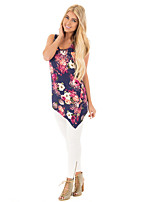cheap -women's going out tank top - floral strap