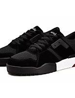 cheap -Men's Mesh Fall Comfort Sneakers Color Block Black / Red / Khaki