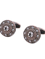 cheap -Geometric Brown Cufflinks Copper Classic / Vintage All Costume Jewelry For Gift