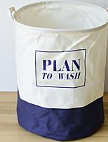 baratos -Armazenamento Simples / Dobrável Modern Poliéster 1pç organização do banho