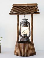 Недорогие -Простой Новый дизайн Настольная лампа Назначение Гостиная Дерево / бамбук 220-240Вольт