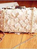 Недорогие -Жен. Мешки Поли уретан Вечерняя сумочка Пуговицы / Кружева Белый
