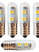 abordables -5pcs 1 W 250-280 lm E14 Bombillas LED de Mazorca 7 Cuentas LED SMD 5050 Decorativa Blanco Cálido / Blanco Fresco 220-240 V