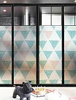 abordables -Film de fenêtre et autocollants Décoration Géométrique Géométrique PVC Design nouveau