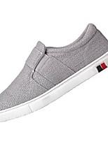 cheap -Men's Shoes Linen Fall Light Soles Sneakers Black / Beige / Gray