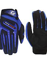 baratos -RidingTribe Dedo Total Unisexo Motos luvas uretano poli / Malha Respirável / Tecido Saudável Respirável / Sensível ao Toque
