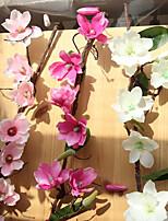 baratos -Flores artificiais 1 Ramo Clássico Estiloso / Modern Orquideas Flor de Mesa