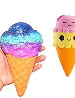 cheap -LT.Squishies Squeeze Toy / Sensory Toy / Stress Reliever Ice Cream Stress and Anxiety Relief / Decompression Toys Poly urethane 10 pcs Children's All Gift