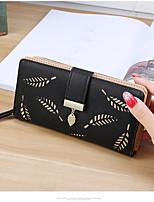 cheap -Women's Bags PU(Polyurethane) Wallet Zipper Purple / Brown / Sky Blue