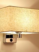 economico -Moderno / Contemporaneo Lampade da parete Salotto / Camera da letto Legno / bambù Luce a muro 220-240V 40 W
