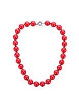 economico -Per donna Perle Lampadari Collana - Perla Artistico, Classico, Europeo Rosso 45 cm Collana 1pc Per Party / serata, Formale
