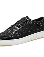 cheap -Men's PU(Polyurethane) Summer Comfort Sneakers Gold / Black / Silver