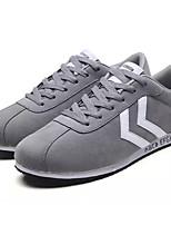 cheap -Men's Faux Leather / PU(Polyurethane) Summer Comfort Sneakers Black / Gray / Red
