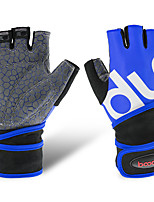 cheap -Exercise Gloves With 2 pcs Lycra Antiskid, Half Finger Wearable, Training For Exercise & Fitness / Gym Unisex