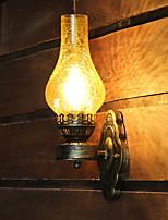 preiswerte -Kreativ / Cool Retro Wandlampen Wohnzimmer / Schlafzimmer Metall Wandleuchte 220-240V 40 W