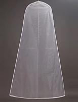 Недорогие -Один слой Modern Свадебные вуали Сумки для одежды С Однотонные 70,87 В (180см) Тюль