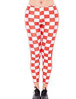 preiswerte -Damen Alltag Grundlegend Legging - Verziert, Druck Hohe Taillenlinie