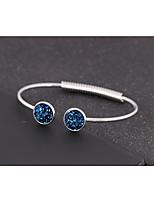 cheap -Women's Single Strand Cuff Bracelet - Sweet, Cute Bracelet Purple / Blue / Champagne For Party / Festival