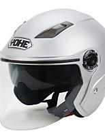 abordables -YOHE YH-837-R Casque Bol Adultes Unisexe Casque de moto Anti-Choc / Respirable