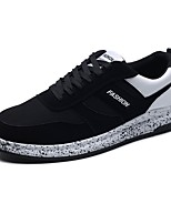 cheap -Men's Shoes Tulle Summer Comfort Sneakers Black / Black / White / Black / Red