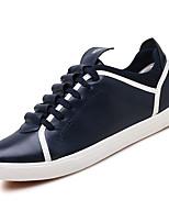 Недорогие -Муж. Полиуретан Осень Удобная обувь Кеды Белый / Черный / Синий
