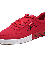 cheap -Men's Cotton Summer Comfort Sneakers Gold / White / Red