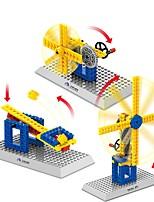cheap -Building Blocks 50 pcs Pig / Windmill School / Decompression Toys / Parent-Child Interaction Gift