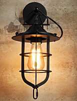 cheap -Anti-Glare Antique Wall Lamps & Sconces Living Room / Outdoor Metal Wall Light 220-240V 40 W / E27