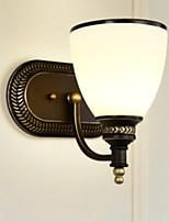 Недорогие -Настенные светильники Гостиная / Спальня Металл настенный светильник 220-240Вольт 40 W