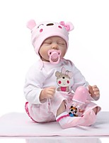 cheap -NPKCOLLECTION Reborn Doll Baby Girl 22 inch Silicone - lifelike Kid's Unisex Gift
