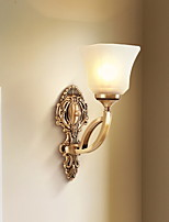cheap -Anti-Glare Retro Wall Lamps & Sconces Living Room / Hallway Metal Wall Light 220-240V 40 W