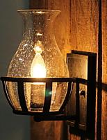 cheap -Cool Vintage Wall Lamps & Sconces Living Room / Hallway Metal Wall Light 220-240V 40 W / E14