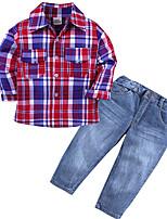 cheap -Toddler Boys' Striped Long Sleeve Clothing Set