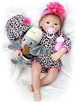 Недорогие -OtardDolls Куклы реборн Девочки 20 дюймовый Силикон - как живой, Ручные прикладные ресницы Детские Девочки Подарок