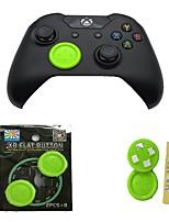 baratos -Acessório de controlador de jogo Para Um Xbox / Xbox One S / Xbox One X Adorável Acessório de controlador de jogo PP+ABS 2 pcs unidade