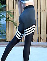 Недорогие -Жен. Штаны для йоги - Черный Виды спорта Велоспорт Колготки / Леггинсы Спортивная одежда Влагоотводящие, Воздухопроницаемость Эластичная