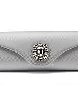 preiswerte -Damen Taschen PU Abendtasche Applikationen Weiß / Schwarz / Silber