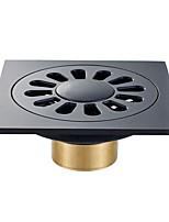 Недорогие -Слив Новый дизайн / Многофункциональный Modern Латунь 1шт Односпальный комплект (Ш 150 x Д 200 см) Установка на полу