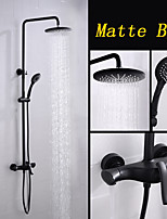 cheap -Shower Faucet - Contemporary Painting Wall Installation Ceramic Valve