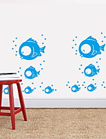 abordables -Autocollants muraux décoratifs - Autocollants avion Animaux Salle de bain / Chambre des enfants