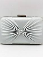 cheap -Women's Bags Silk Evening Bag Bow(s) Black / Silver