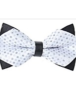 cheap -Unisex Party / Basic Bow Tie - Polka Dot / Color Block Blue & White