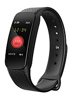 cheap -Smart Bracelet YY-L6 for Android 4.3 and above / iOS 7 and above Touch Screen / Heart Rate Monitor / Waterproof Pedometer / Activity