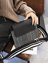 cheap -Women's Bags PU(Polyurethane) Shoulder Bag Buttons Black / Beige / Coffee