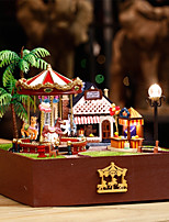 cheap -Dollhouse Creative / with LED Light Romance / Carousel 1 pcs Pieces Child's Gift