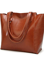 cheap -Women's Bags PU(Polyurethane) Shoulder Bag Zipper Red / Gray / Brown