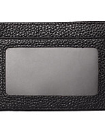 cheap -Men's Bags Nappa Leather Wallet Zipper Black / Coffee