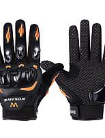 cheap -WOSAWE Full Finger Unisex Motorcycle Gloves PVC (Polyvinylchlorid) / SBR Breathable / Wearproof / Non-slip