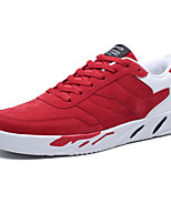 cheap -Men's Suede / PU(Polyurethane) Summer Comfort Sneakers Black / Gray / Red